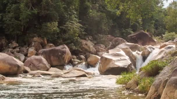 mountain stream flowing