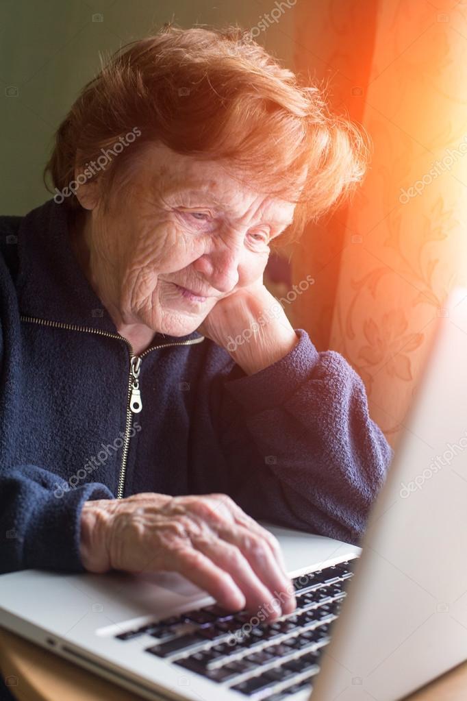 Checks By Mail >> Old Woman Checks Mail Stock Photo C Dimaberkut 53251285