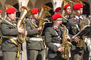 Military Band on main square