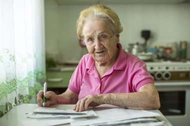 Woman fills the bill for utilities