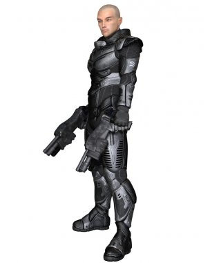 Future Soldier, Male, Standing