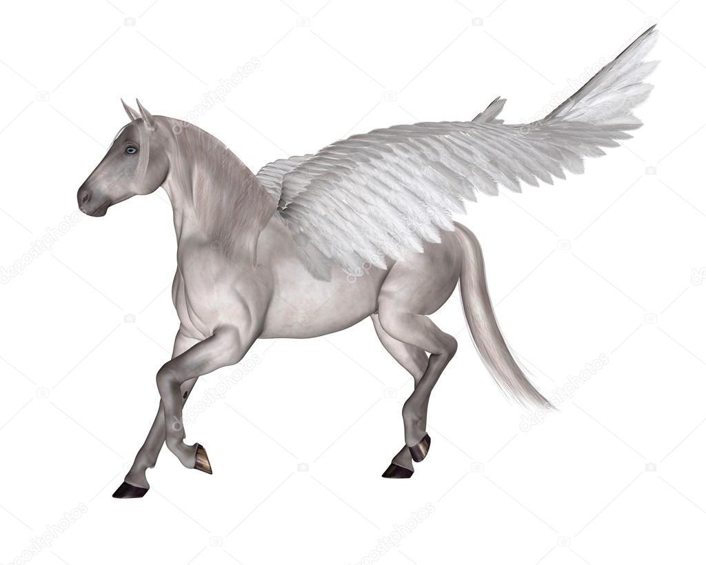 Pegasus The Winged Horse Stock Photo C Algolonline 59914199