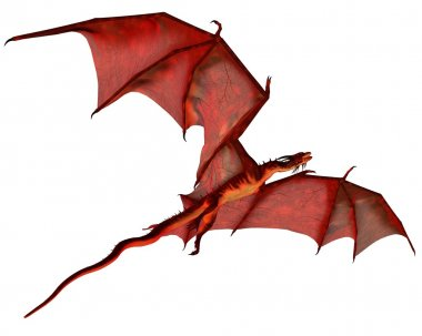 Red Dragon Gliding