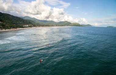 People Surfing, Sao Sebastiao