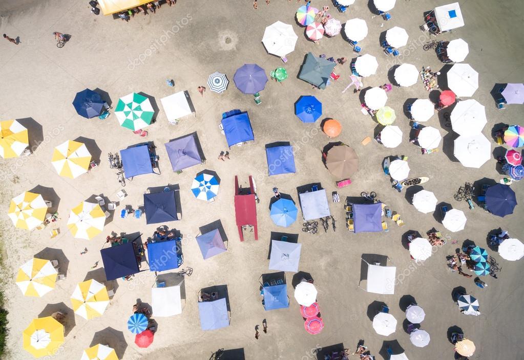 People on Beach in Brazil