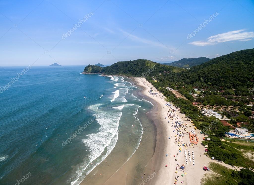 Camburi Beach, Sao Paulo, Brazil