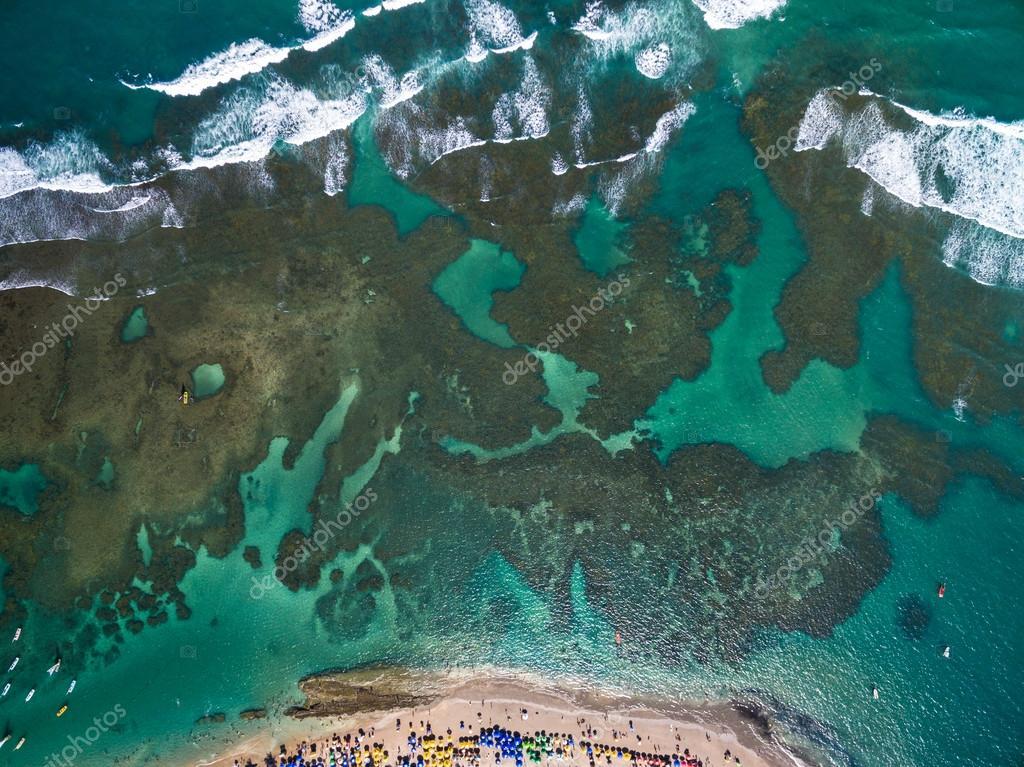 Porto de Galinhas beach in Pernambuco State