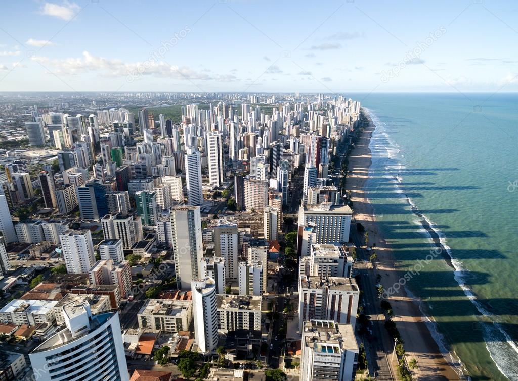Boa Viagem beach in Recife