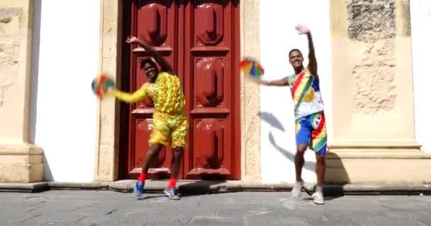 Brazil férfi tánc Frevo Olinda-ban
