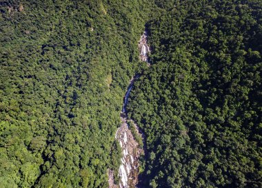 Brazilian Waterfalls in a Mountains