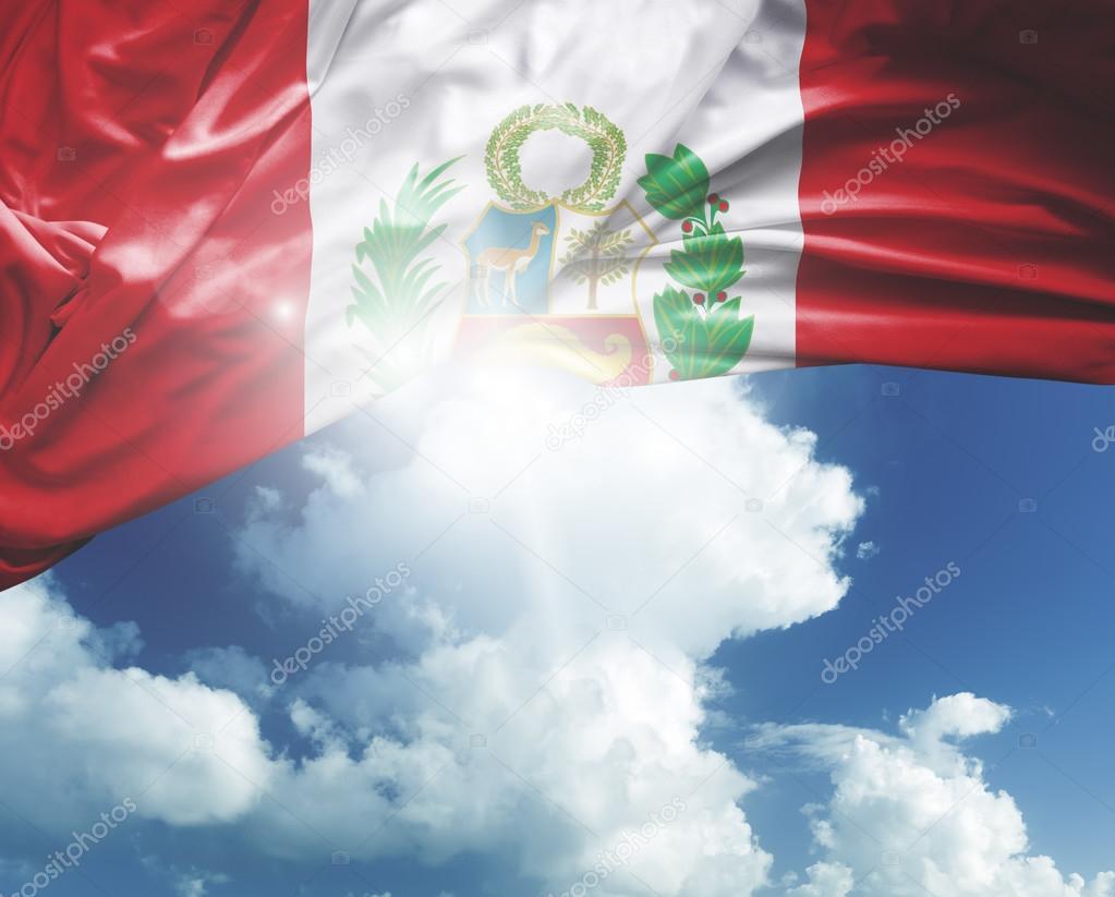 peru national flag
