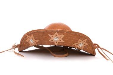 Brazilian leather hat