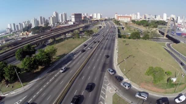 The famous Radial Leste in Sao Paulo, Brazil