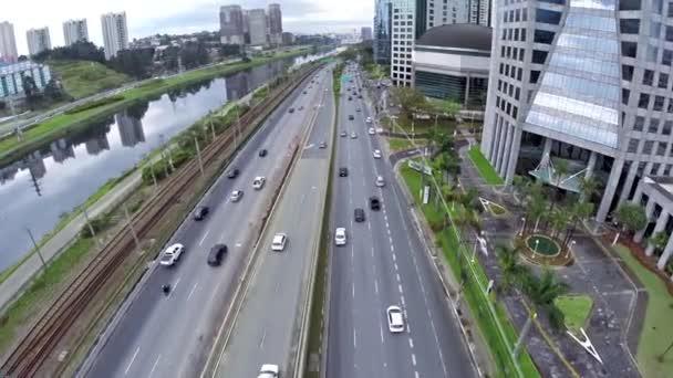 Brazil Sao Paulo traffic stock footage. Video of clear ... |Sao Paulo Brazil Traffic