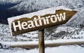 Vývěsní štít Heathrow