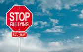 Fotografie Stop Mobbing kreative Zeichen