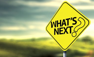 Whats Next creative sign