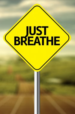 Just Breathe Creative sign