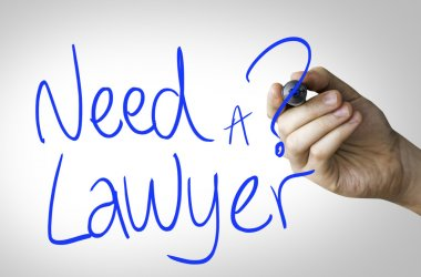 Need a Lawyer hand writing
