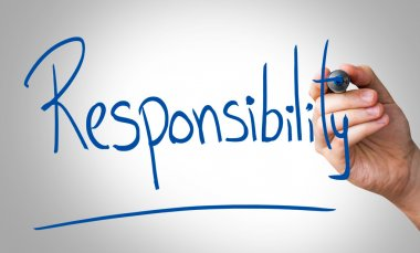 Responsibility hand writing