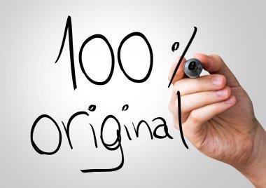 100 percent Original hand writing