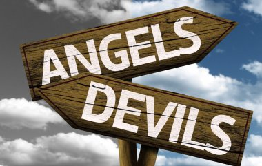 Angels x Devils creative sign