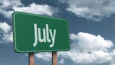 July creative Sign