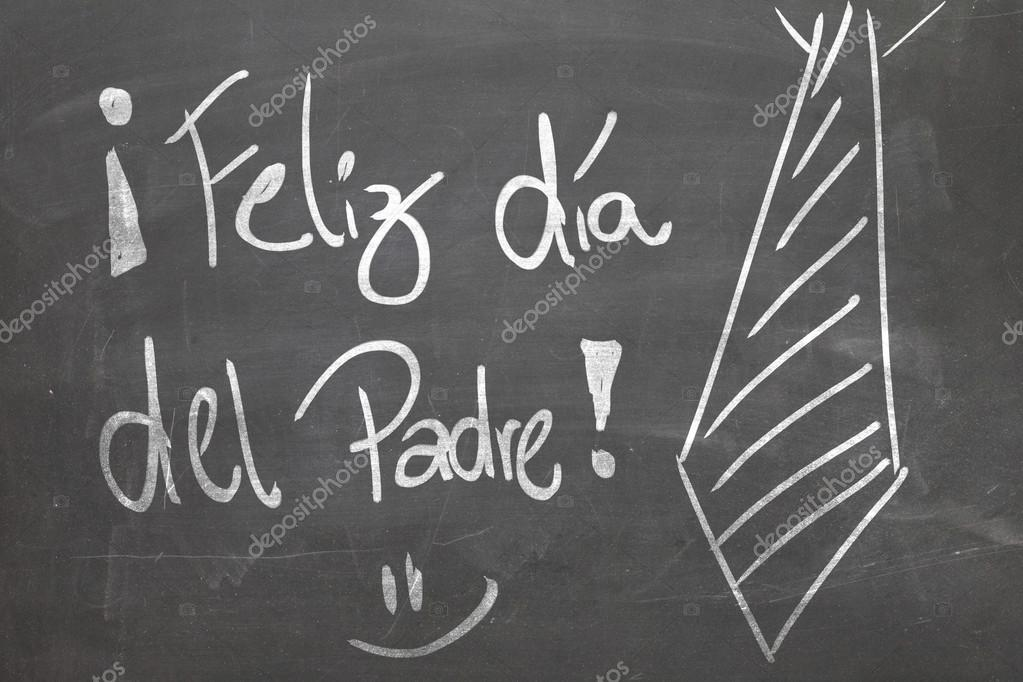 happy fathers day in spanish stock photo filipefrazao 62882029