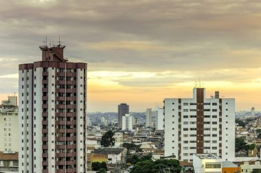 Buildings and houses in Sao Paulo