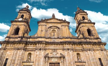 The famous Cathedral in Bogota