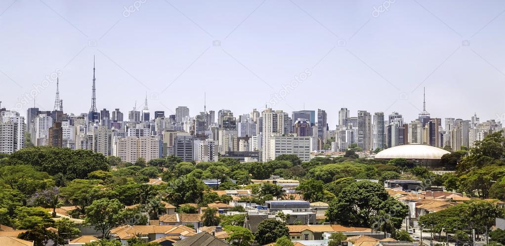 0d16fa7e5d skyline van Sao paulo — Stockfoto © filipefrazao  63647927