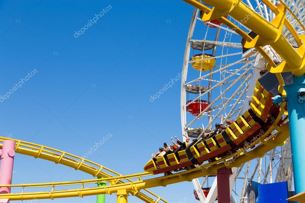 Amusement park on the Santa Monica