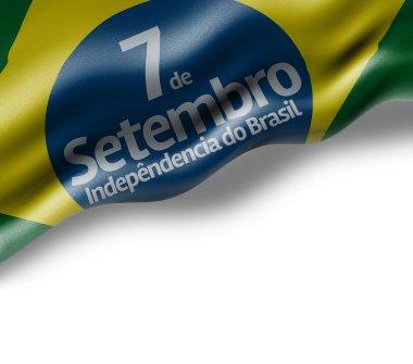 Independence of Brazil flag