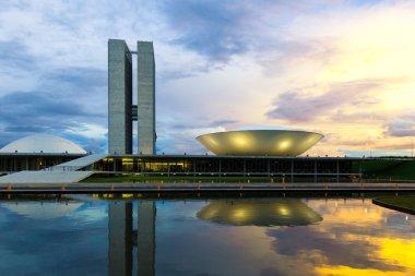 Brazilian National Congress in Brasilia, Brazil