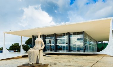 Supreme Federal Tribunal in Brasilia, Brazil