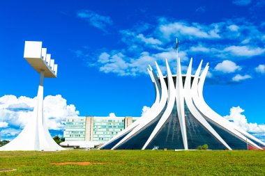 Cathedral of Brasilia, Brazil.