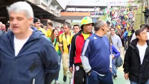 I ventilatori vanno a Arena Sao Paulo