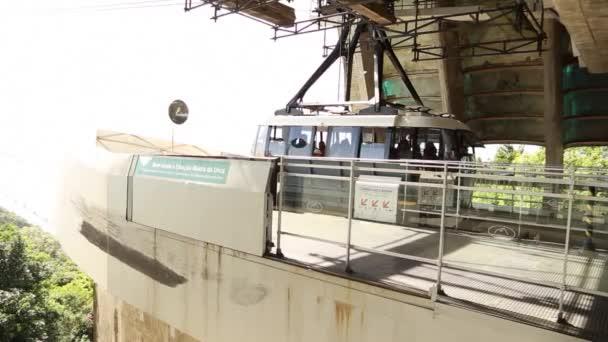 Turisté se lanovka v Rio de Janeiru