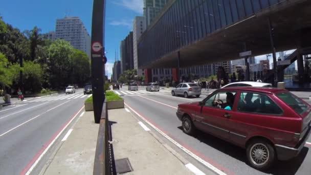 Paulista Avenue v Sao Paulu