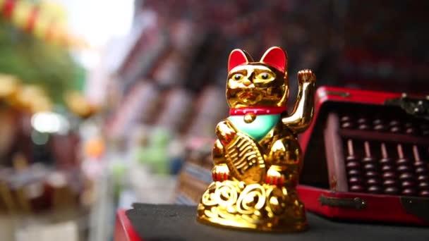 japonské štěstí kočka zlatá