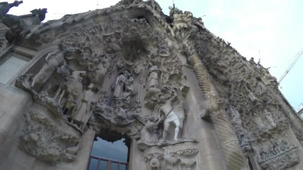 La sagrada familia v Barceloně