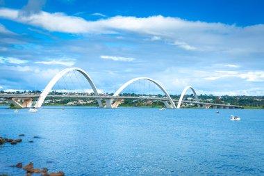 JK Bridge in Brasilia