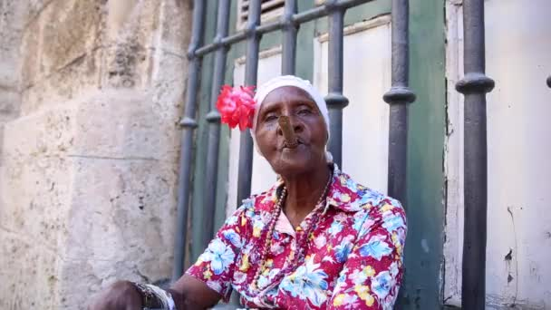Cuban smoke cigar in Havana, Cuba