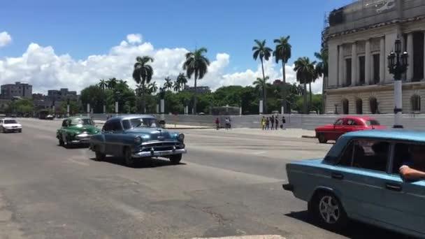Old Cars in Havana Vieja