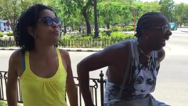 Lovely Cuban couple in Havana, Cuba