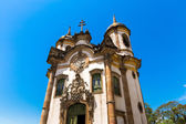 Fotografie Church of Saint Francis of Assisi in Ouro Preto, Minas Gerais, Brazil