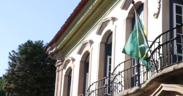 mává brazilská vlajka