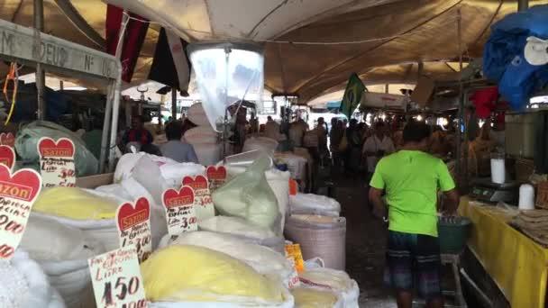Brazilská tapioka na trhu