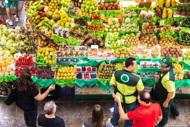Municipal Market (Mercado Municipal) in Sao Paulo