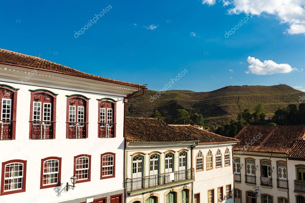 Antique houses in Brazil